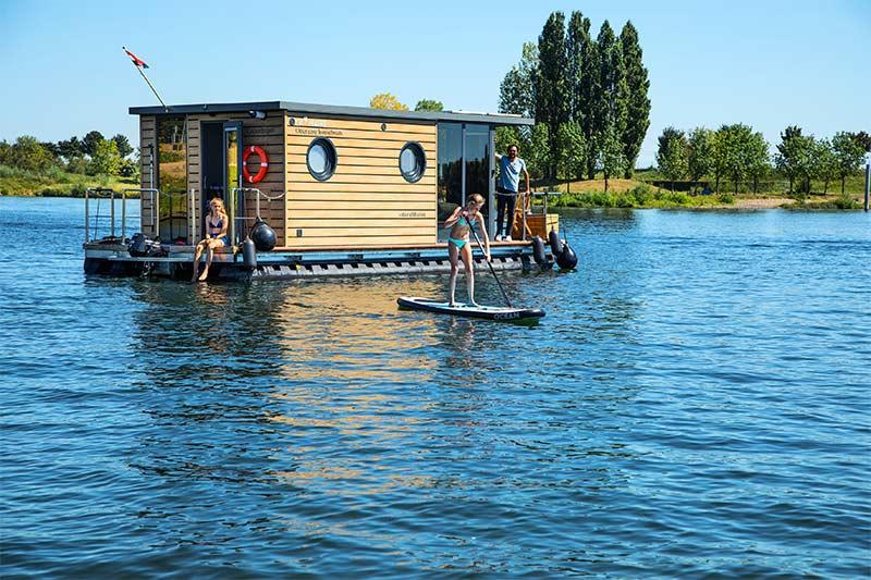 huisboot huren Limburg Nederland Maasplassen