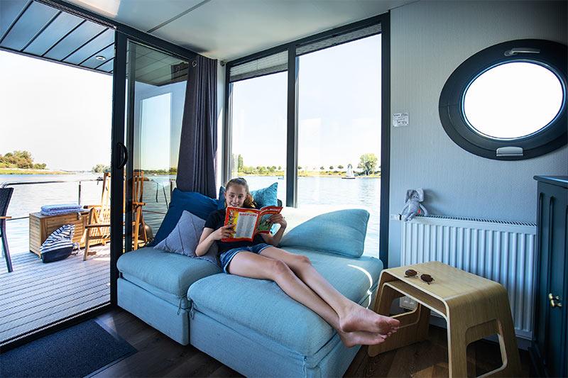 Comfortklasse M Otter Easy Houseboats interieur3