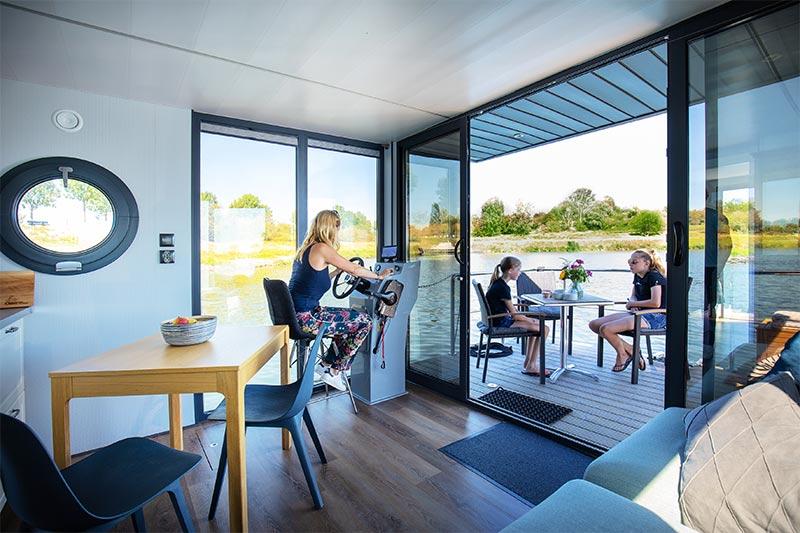Comfortklasse M Otter Easy Houseboats interieur5