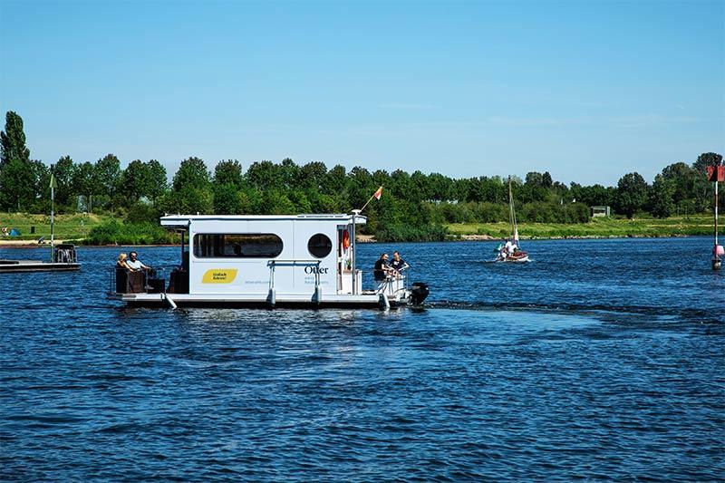 Compactklasse Otter Easy Houseboats exteriör2