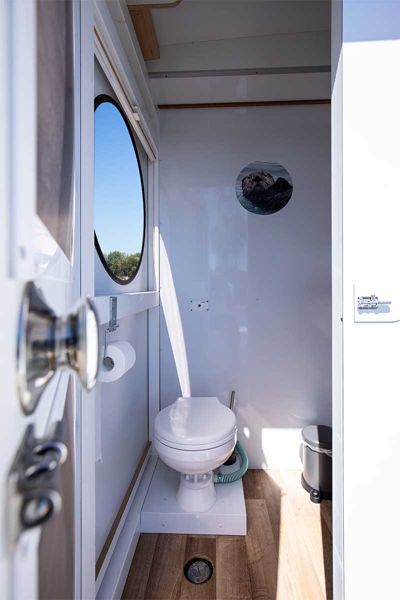 Compactklasse Otter Easy Houseboats interieur4