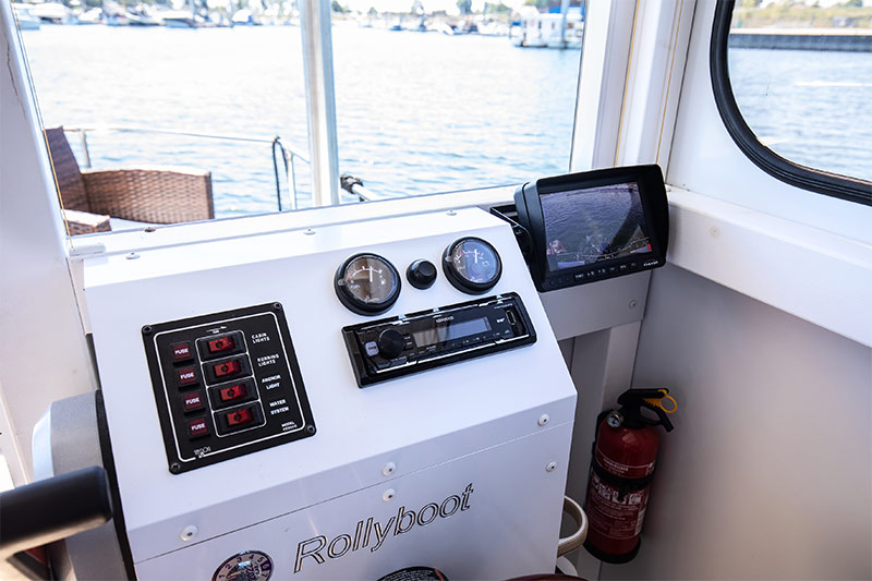 Compactklasse Otter Easy Houseboats interieur8