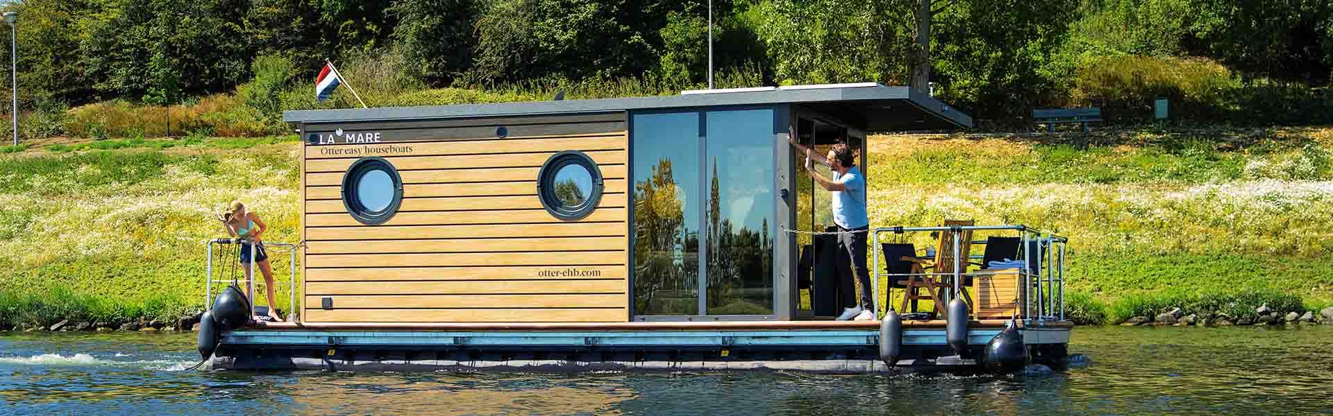 Comfortklasse M Otter Easy Houseboats exterieur4