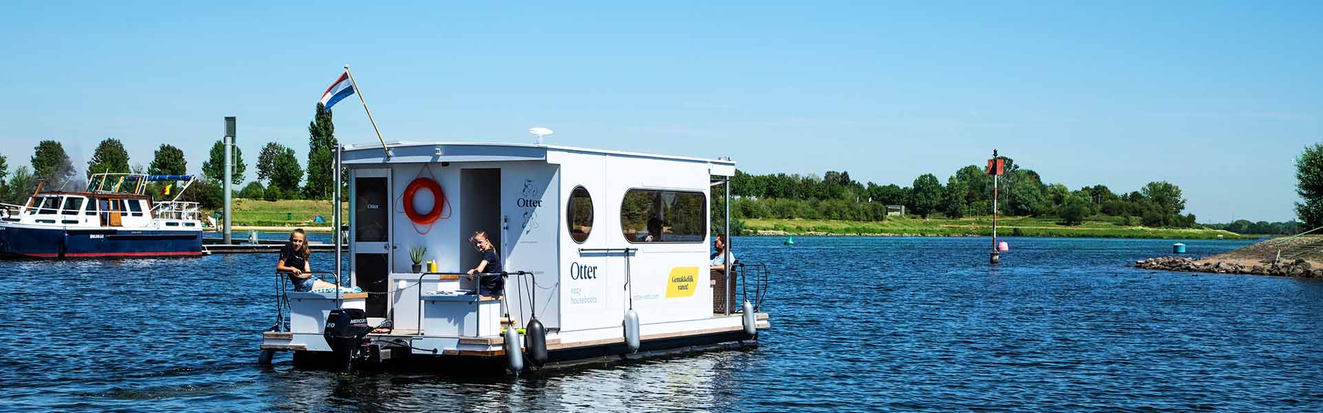 Compactklasse Otter Easy Houseboats exterieur2