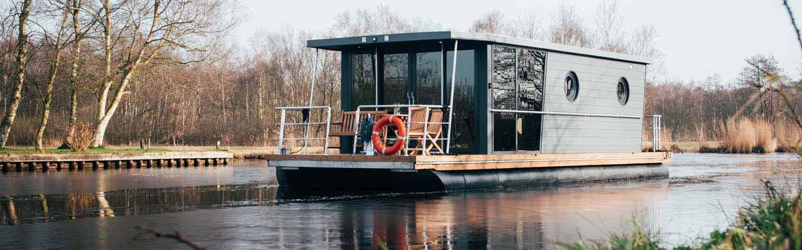 Otter Easy Houseboats Roermond huisbootvakantie in de winter